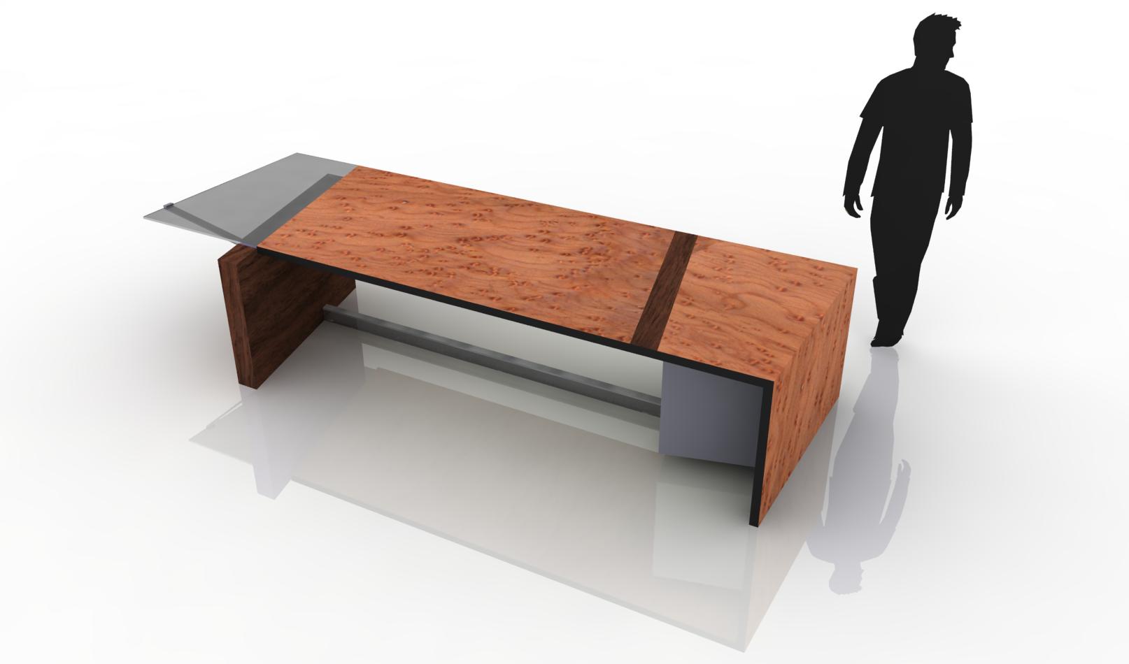 Scrivania per ufficio enzo mastrangelo for Ufficio architetto design